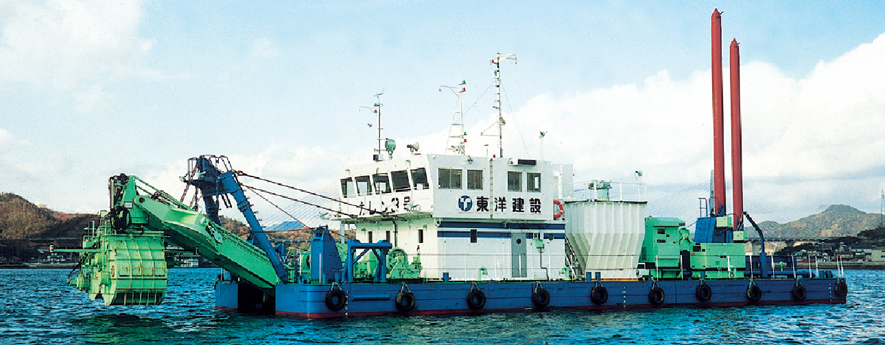 High Concentration Bottom Mud Dredging Construction Method: KAREN Method