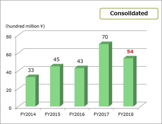 Net Income consolidated