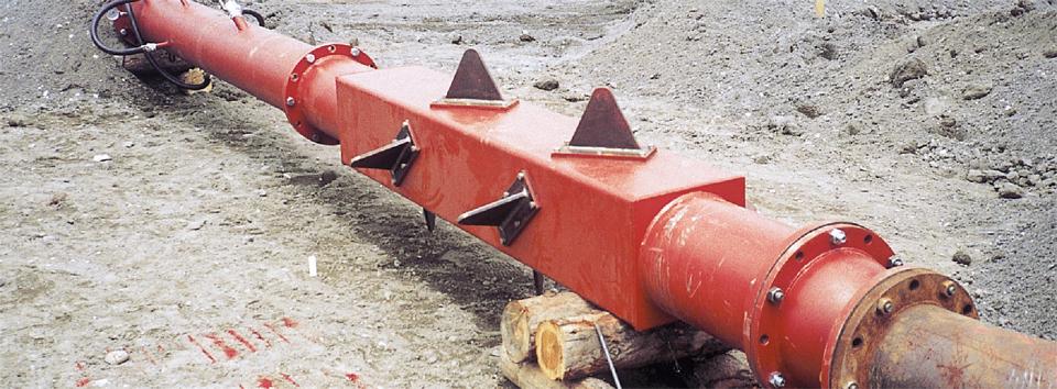 浚渫土固化圧送工法 LMP(ランプ)工法
