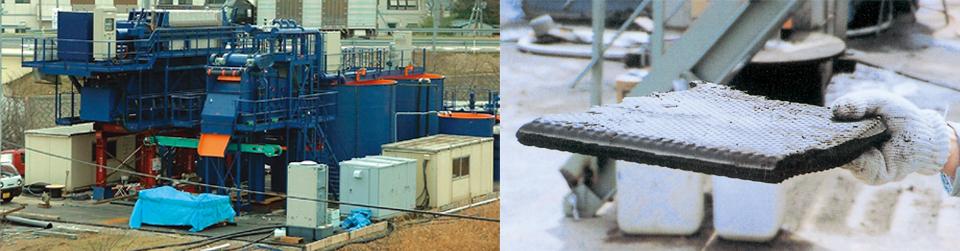 機械式脱水工法 サイプレス工法
