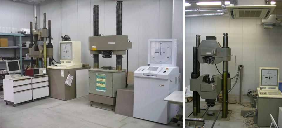 材料実験設備・試験機器