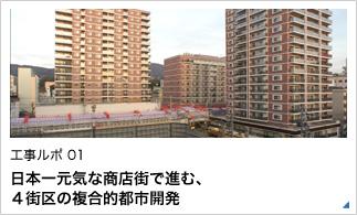 日本一元気な商店街で進む、4街区の複合的都市開発